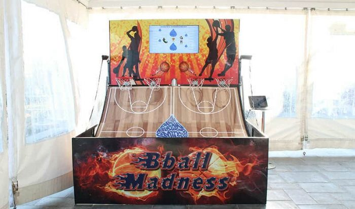 picture of Basketball Madness Pop-A-Shot Game