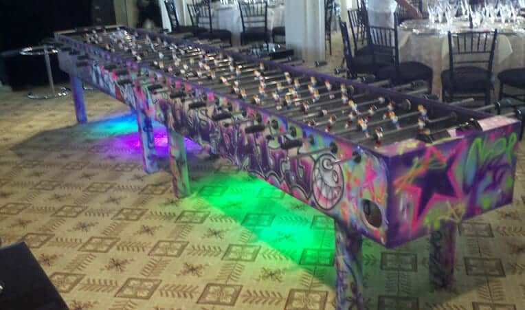 Picture of Giant 16 Person Foosball Table for Team Building Activities