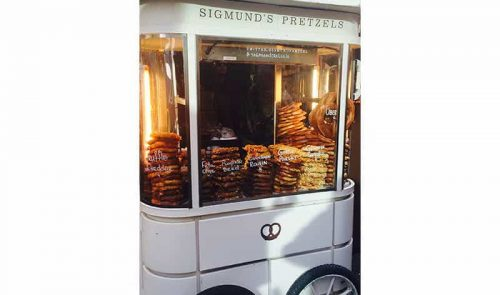 Sigmunds Pretzels for picnics, parties, and other events