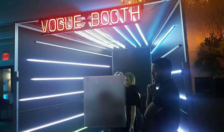 Vogue Photo Booth Rental | Vogue Booth | 360 Photo Booth