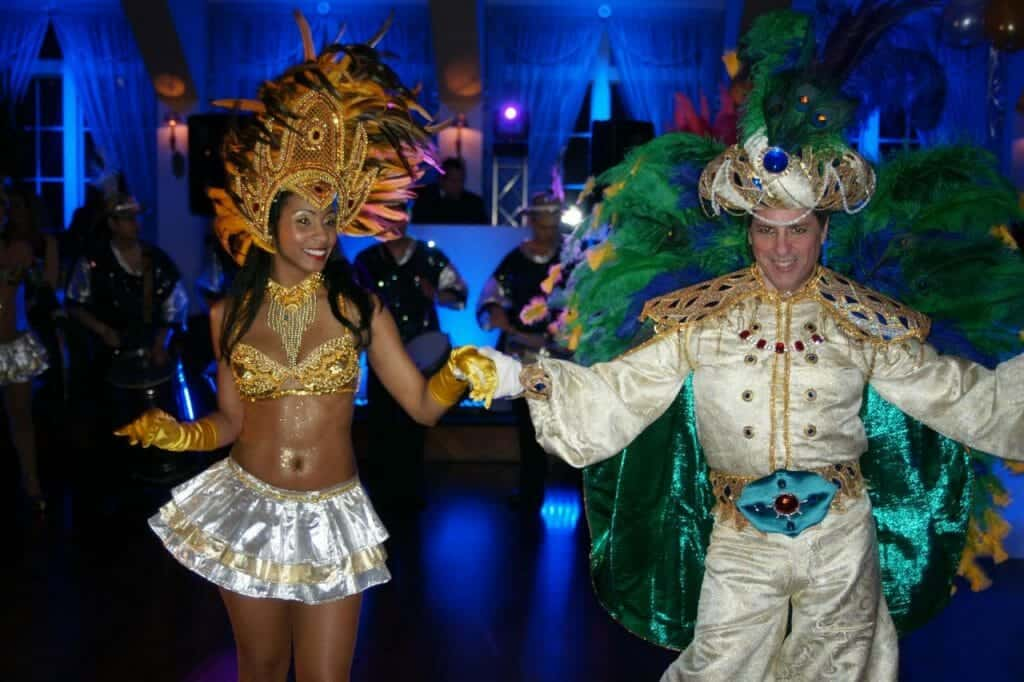 Entertainment for large corporate event planned by CoCo Events