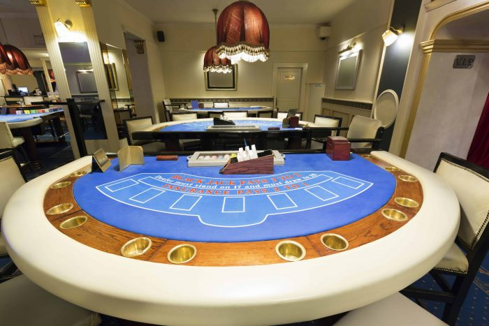 Blackjack tables for casino parties