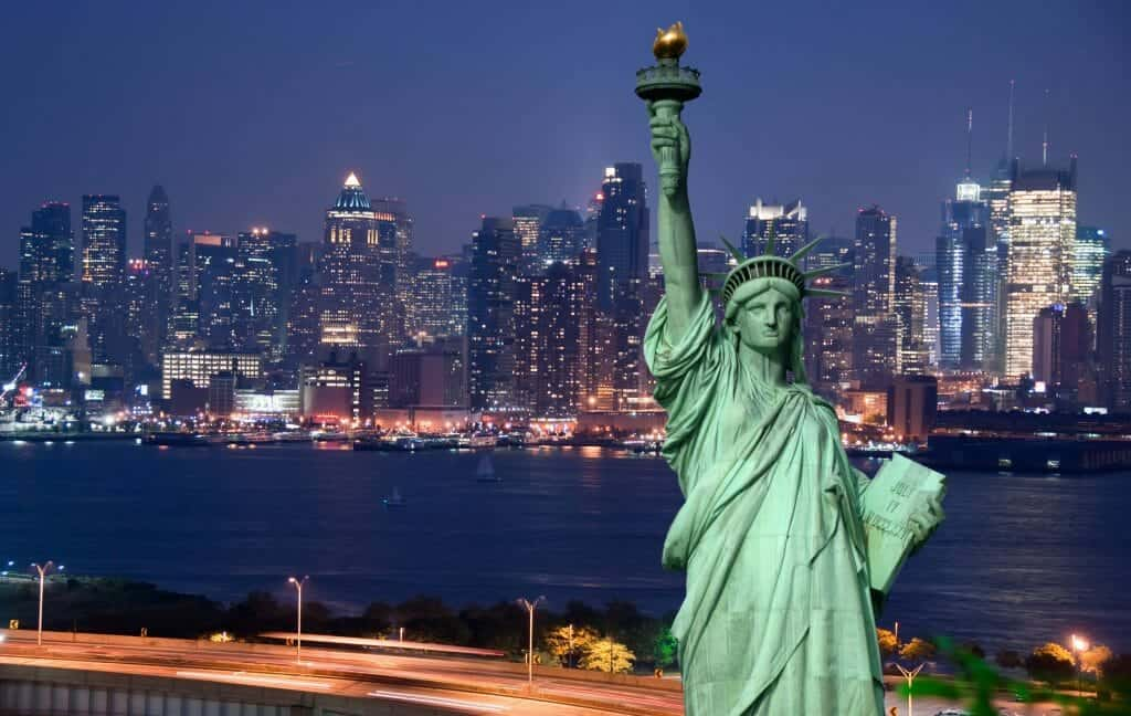 Entertainment planning services in New York City picture of Statue of Liberty