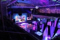 Events Services by CoCo Events includes lighting, lounge rentals, and decor.
