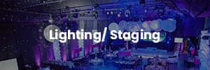 Lounge & Staging rentals for Events from CoCo Events