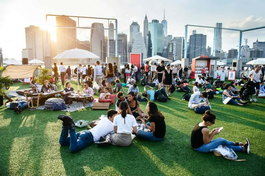 Corporate New York City Picnic Party