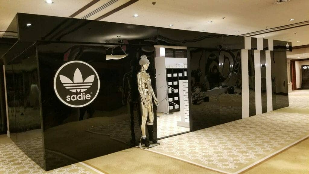 Pop Up Shop Created for Adidas by CoCo Events