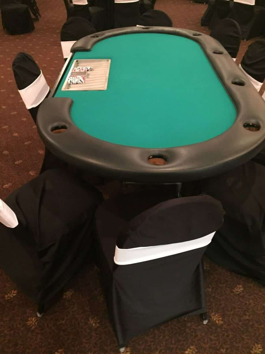 Poker Table Rental Texas Hold Em Poker Table Rentals Coco Events