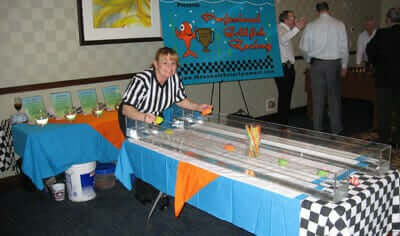 Referee for Goldfish Racing Game