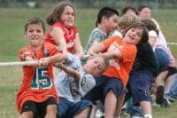 Kids Tug of War picture at picnic event from CoCo Events