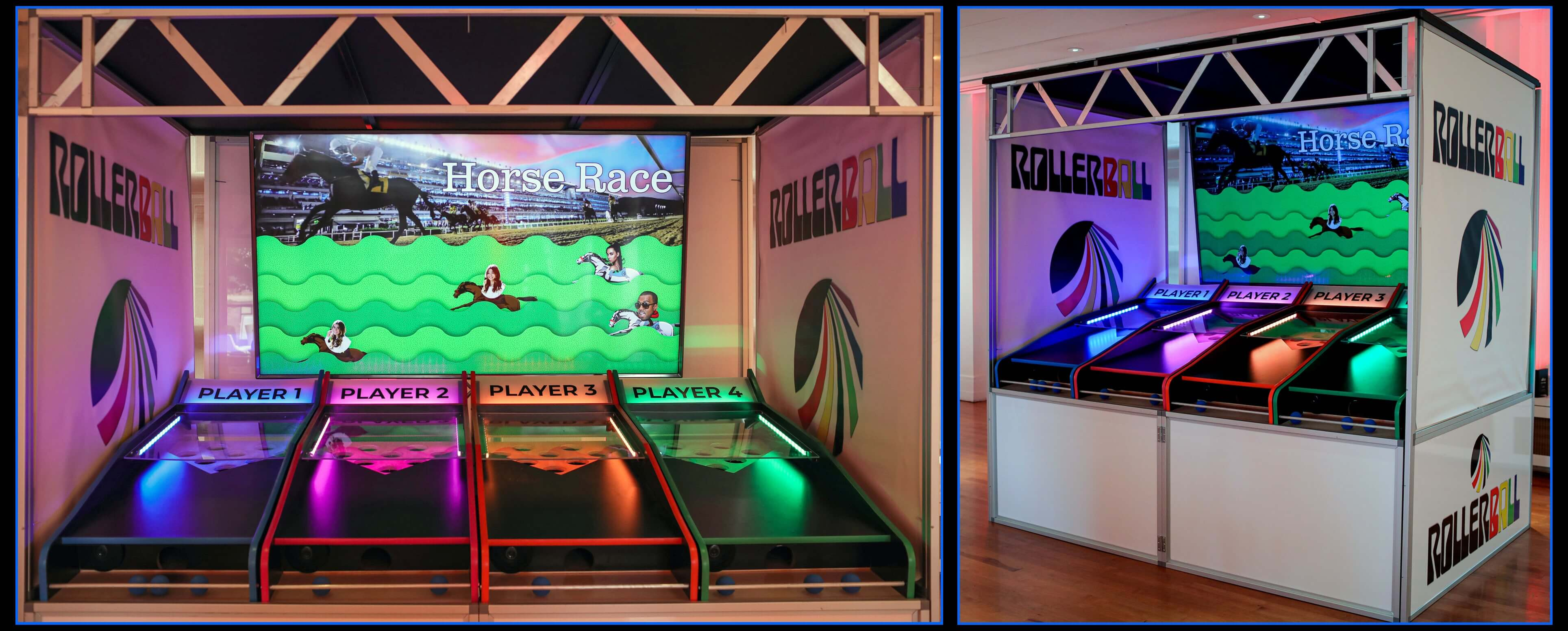 Roller Ball game rental as part of CoCo Events hi-tech game rentals