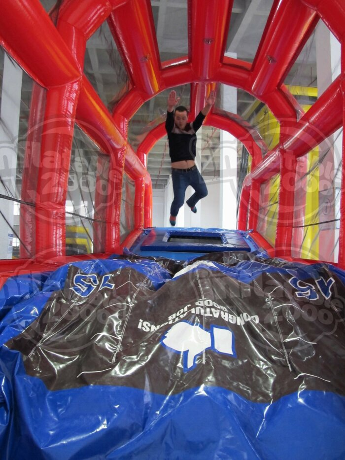 The Launch Pad Trampoline Inflatable Rental